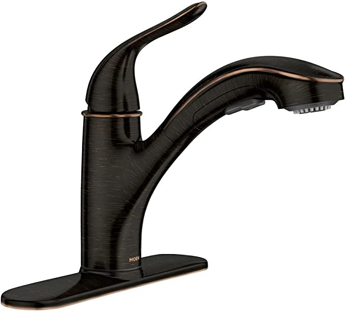Moen Brecklyn 87557brb Kitchen Faucet Amazon Com