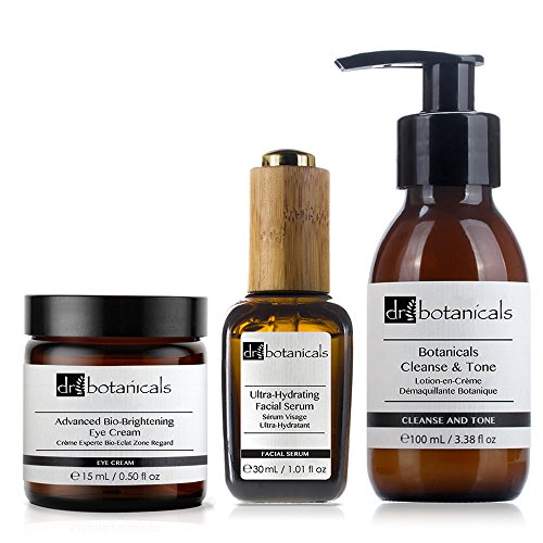 Dr Botanicals Cleanse and Tone Ultra Hydrating Facial Ser...
