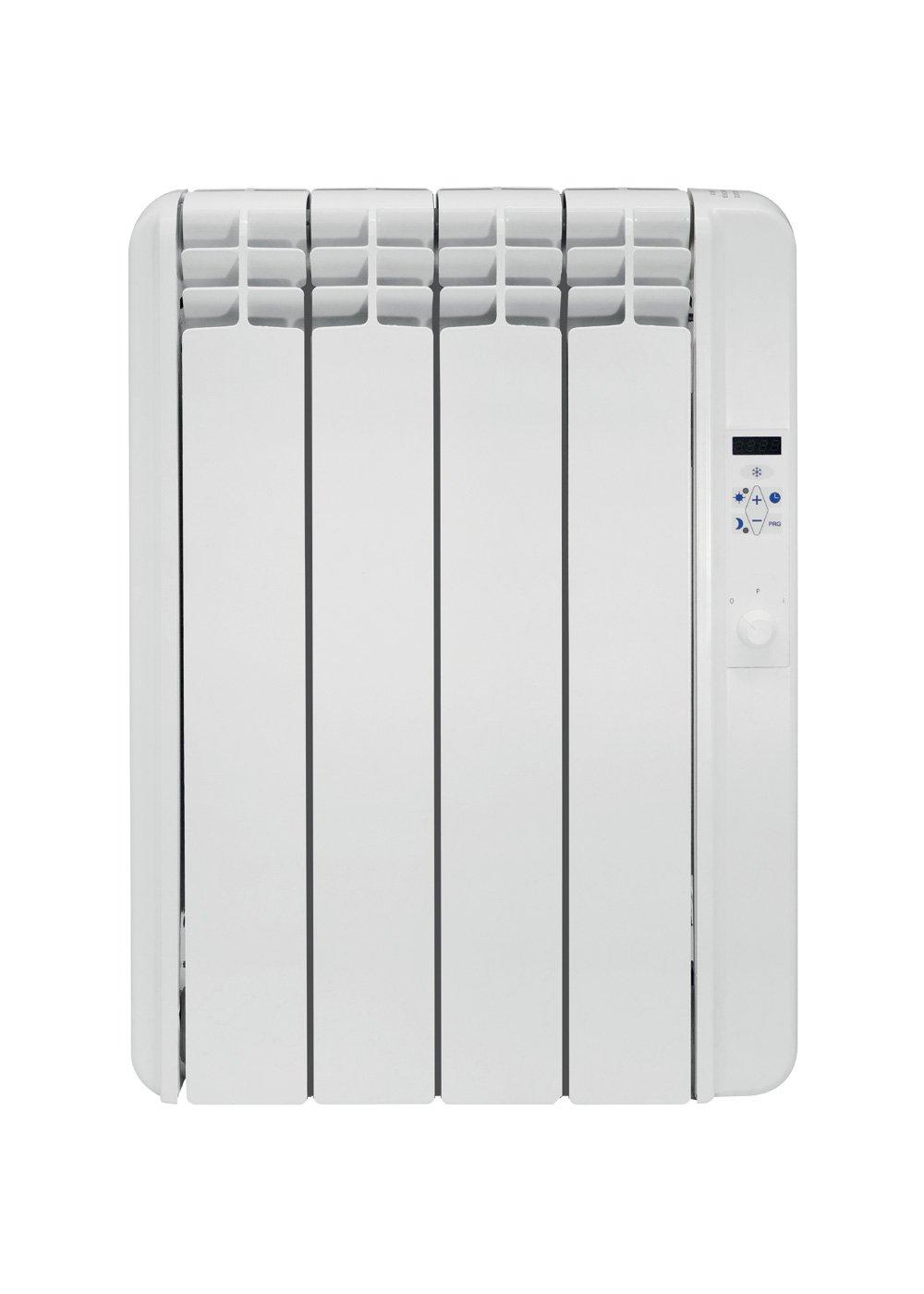Slimline electric heaters wall mounted - Exrad Slimline E4 500 Watt Energy Efficient Electric Radiators Wall Mounted Digital Control Timer High