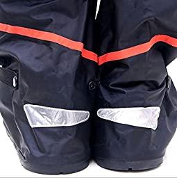 Whose Lemon Waterproof Women Men High Boots Shoes Cover Thicken PVC Reusable Rain-proof Snowproof Shoes Covers for Mortocycle Garden Hiking Camping Climbing Outdoor Activities with Waterproof Shoes Cover Space Saver Travel Bag(Shoes Bag Colors Ships Rando