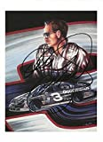 AUTOGRAPHED Dale Earnhardt Sr. #3 Goodwrench Service Racing (Gale Osborne Artist Print) Vintage Intimidator 4X6 NASCAR Photo with COA