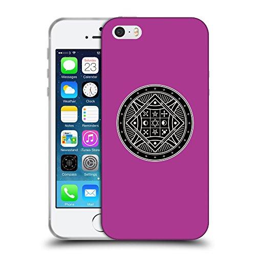 GoGoMobile Coque de Protection TPU Silicone Case pour // Q08290621 Mystique occulte 8 byzantin // Apple iPhone 5 5S 5G SE