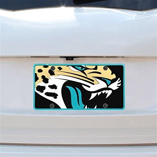 NFL Jacksonville Jaguars Acrylic Full Color Mega Logo License Plate / Teal by Stockdale