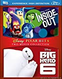 Inside Out and Big Hero 6 Blu-Ray