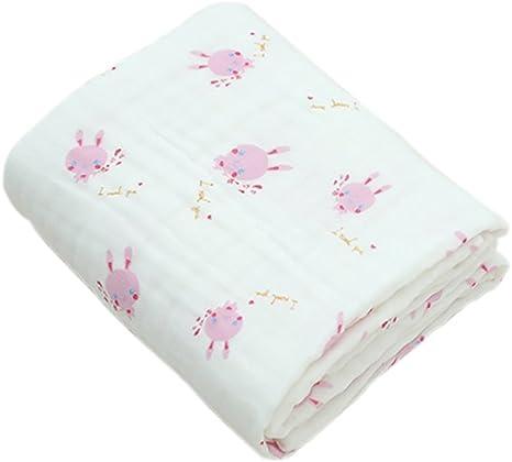 Boshiho muselina algodón doble cálido bebé manta y toalla de baño ...