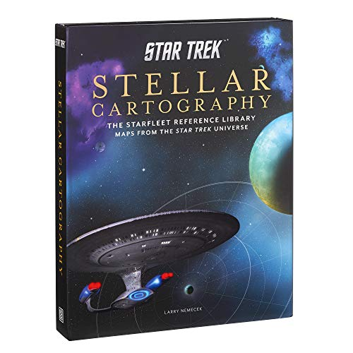 Star Trek: Stellar Cartography: The Starfleet Reference Library Maps from the Star Trek Universe ()