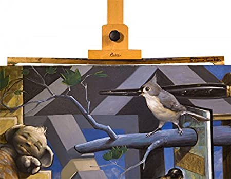 Eliminates Sagging- Size 16 Inch The Original Stephen Sawyer Canvas Bridge Easel Accessory Secures /& Supports Stretched Canvas Pair Allows Artists To Paint Edge To Edge