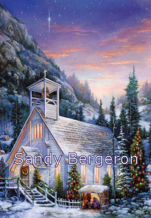 Bergeron Christmas Cards.Amazon Com Sandy Bergeron Yuletide Celebration Christmas