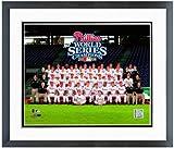 "Philadelphia Phillies 2008 World Series Team Photo (Size: 12.5"" x 15.5"") Framed"