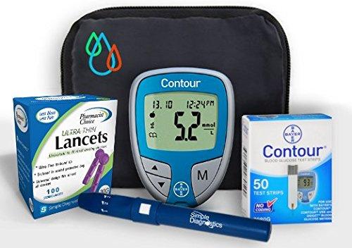 Raindrop USA - Simple Diagnostics & Contour Diabetes Blood G