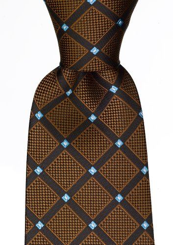Scott Allan Mens Geometric Necktie