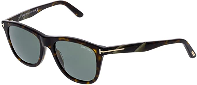 1f85bf33064 Image Unavailable. Image not available for. Color  Sunglasses Tom Ford  ANDREW TF 500 FT 52N dark havana ...