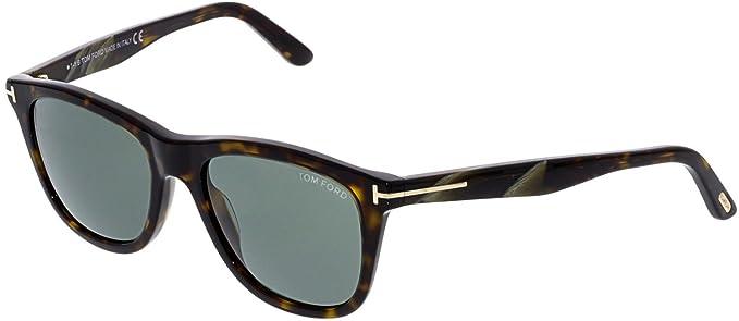 2072c49e07c Sunglasses Tom Ford ANDREW TF 500 FT 52N dark havana   green at ...