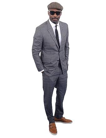 P&G Hombre Traje Slim Fit Dos Botones Dos Piezas Vestido de ...