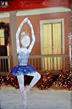 Twinkling Tinsel Ballerina LED Lighted 78 Inch Indoor/Outdoor Decor