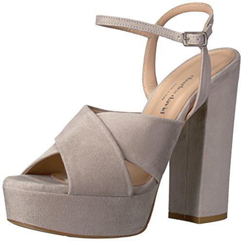 CHARLES DAVID Women's Rima Platform Dress Sandal, Grey, 8.5 M US