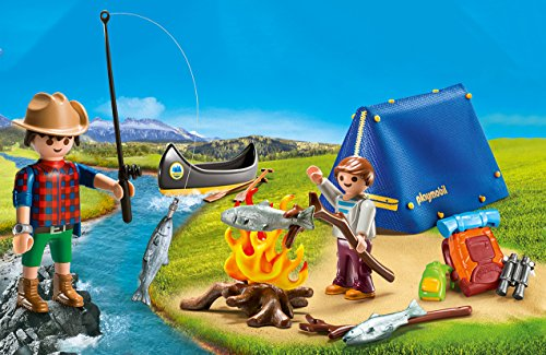 PLAYMOBIL® Camping Adventure Carry Case Building Set