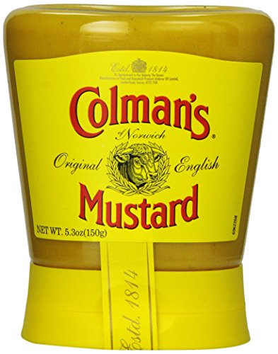 Colman's Squeezy Mustard, 5.3-Oz., Pack of 6
