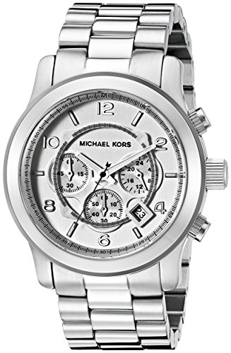 Michael Kors Men's Runway Silver-Tone Watch - Silver Michael