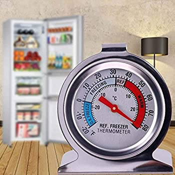 ST03 Genuine Supco Stainless Refrigerator Freezer Food Service Thermometer