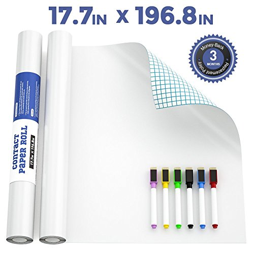Nicpro Extra Large White Contact Paper 17.7