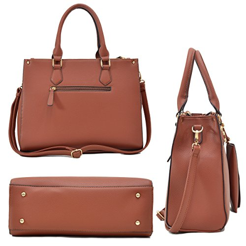 91200700d022 La Terre Fashion Padlock 2-in-1 Tote Satchel Handbag - Buy Online in ...