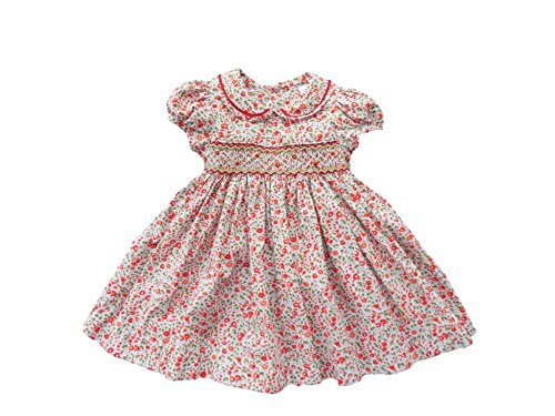 d20eaa60054 Galleon - Edgehill Collection Floral Smocked Baby Girls  Dress Size 3 Months