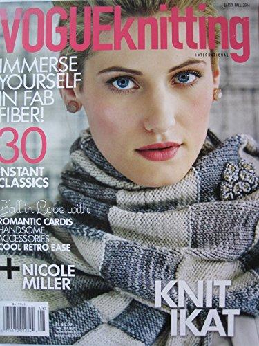 Buy vogue knitting magazine vintage