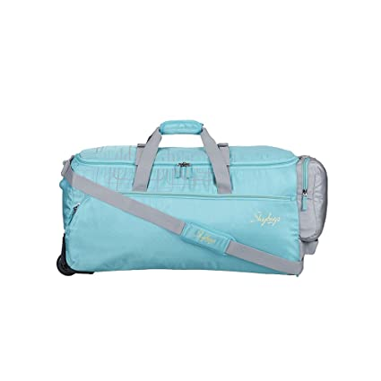 e99f24dcaca8a4 Skybags AER Polyester 32 cms Sea Green Duffle Bags (DFTAER68SGN):  Amazon.in: Bags, Wallets & Luggage