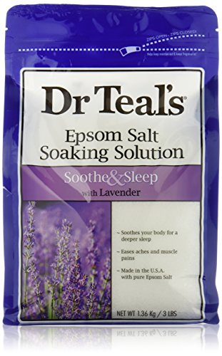 Dr Teals Lavender Epsom Salt - Soothe and Sleep - 3lbs - 1 bag