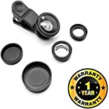 Cospex Universal 3 in 1 Mobile Camera Lens for Smartphone Photography Compatible with All Smartphones