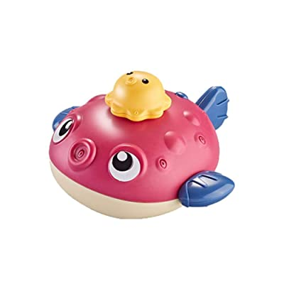 Sprinkler Buddy Infant Bath Toy-Baby Bath Toy Floating Bathing -Toy Water Spray Toy for Boys Girls Toddlers : Baby
