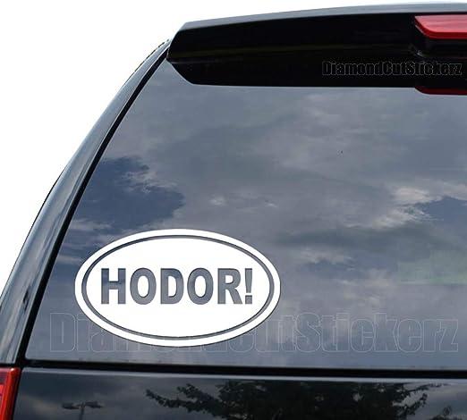 Trucks 5 x Hodor vinyl sticker//decal Car window Laptops