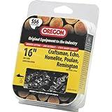 Oregon S56 16-Inch Semi Chisel Chain Saw Chain Fits Craftsman, Echo, Homelite, Poulan, Remington