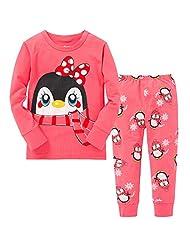 CharmLeaks Little Girl & Boy Cotton Kid Pajamas Set