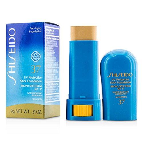 0.31 Ounce Foundation - Shiseido UV Protective Stick Foundation SPF 37 #02 Fair Ochre 9g / .31 oz