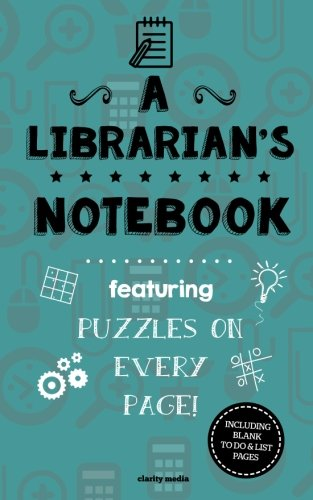A Librarian's Notebook: Featuring 100 Puzzles