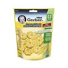 Gerber Arrowroot Biscuits Toddler Snacks, 155-Gram