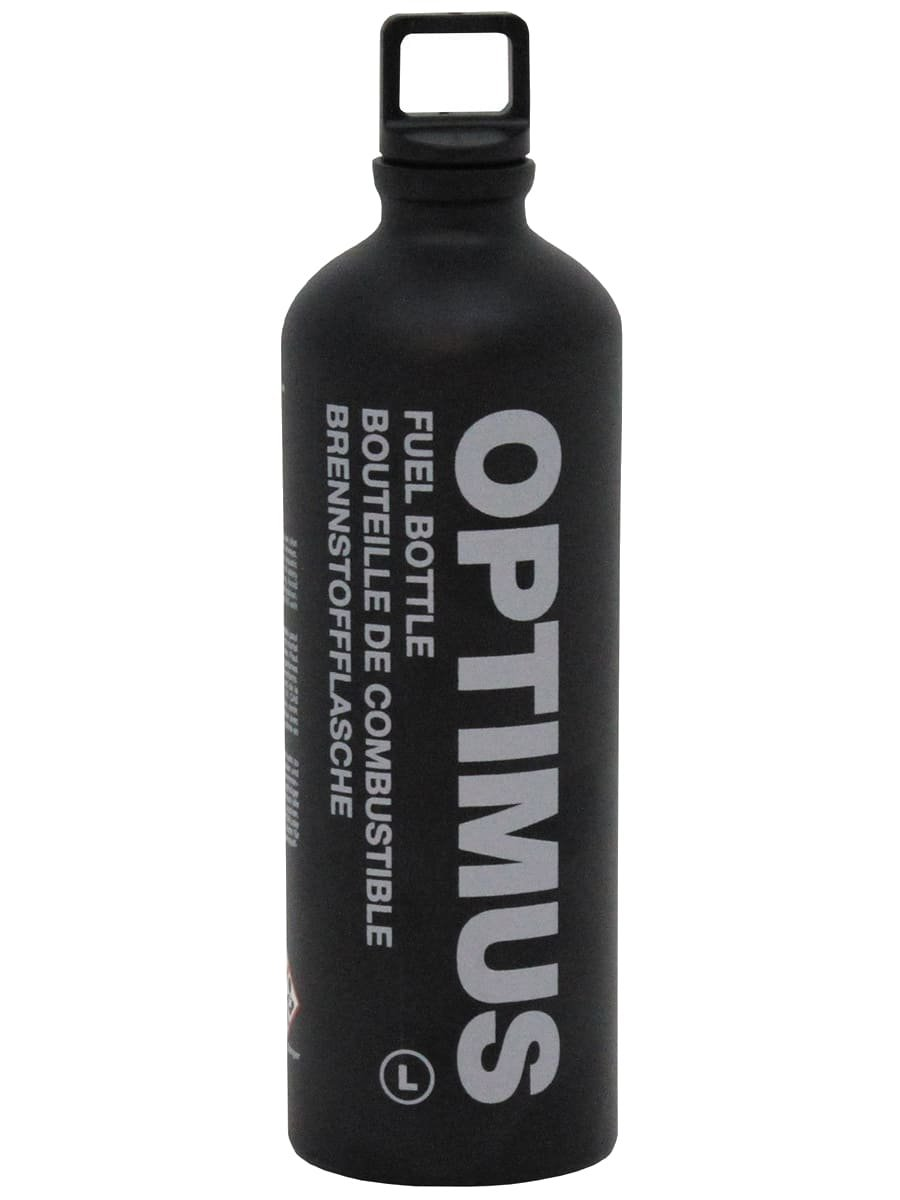 Bundeswehr Botella de combustible 1L), color negro Militär