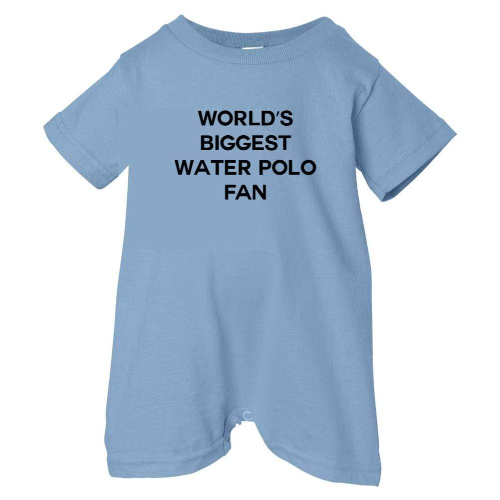Mashed Clothing Unisex Baby Worlds Biggest Water Polo Fan T-Shirt Romper