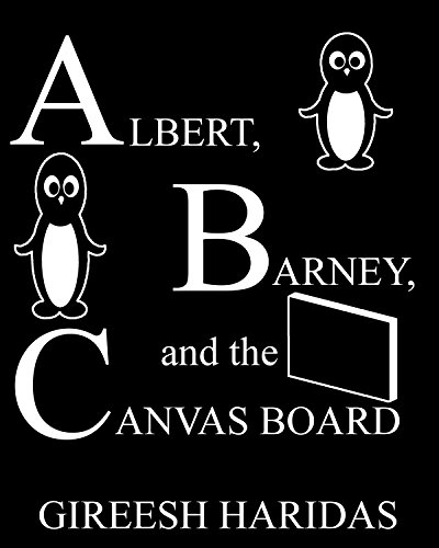Albert, Barney, and the Canvas Board