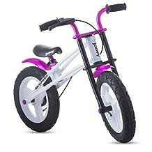 Joovy 146 Bicycoo BMX Balance Bike, Pink