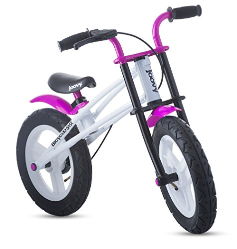 Joovy Bicycoo BMX Balance Bike, Pink, 21.5 x 16.2 x 33.5