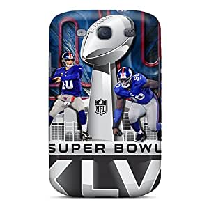 Anti-Scratch Hard Phone Cover For Samsung Galaxy S3 With Unique Design Lifelike New York Giants Pictures AlainTanielian