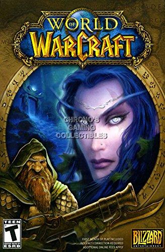 CGC Huge Poster - World of Warcraft Base SET BOX ART PC - EXT175 (24