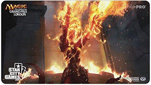 Magic the Gathering MTG Grand Prix London 2015 Playmat - Chandra Nalaar''Ravaging Blaze''