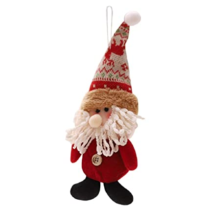 fheaven tm christmas decorations christmas tree decorations hanging decor snowman santa claus ornaments xmas
