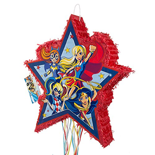 DC Super Hero Girls Pinata, Pull String -