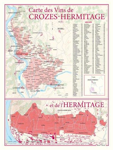 Croze Hermitage (Carte des vins de Crozes-Hermitage)