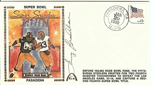 Terry Bradshaw Autographed Signed Autograph First Day Cover Cachet Superbowl 1980 JSA Authentic U06527